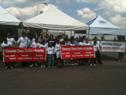 Caravana Todos Contra Pedofilia em Varginha - MG Blits Educativa