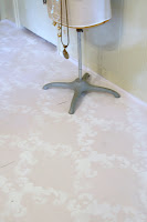 Chalk Paint® and Stenciled Floor
