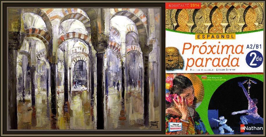 CORDOBA-MEZQUITA-LIBROS-EDUCACION-EDITIONS-NATHAN-FRANCIA-PINTURA-PINTOR-ERNEST DESCALS