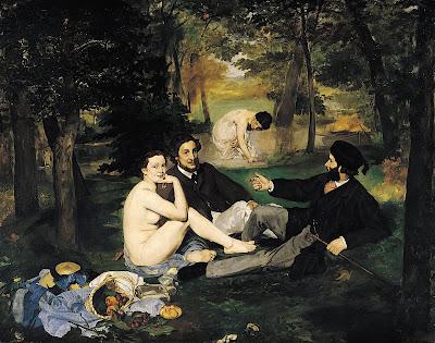 Edouard Manet, Le Dejeuner sur L'Herbe, 1863