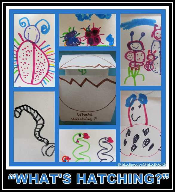 "photo of: ""What's Hatching?"" Spring Foldables in Early Childhood Education via RainbowsWithinReach"