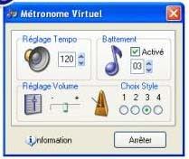 metrónomo virtual para instalar no teu computador