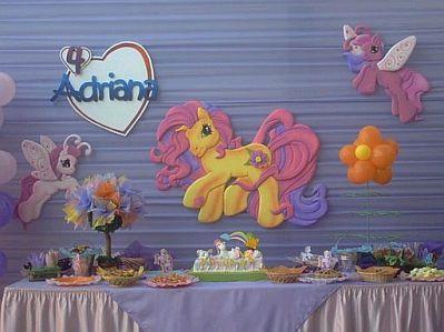 Los Little Pony  En Alto Relieve  Resulta Una Muy Buena Idea
