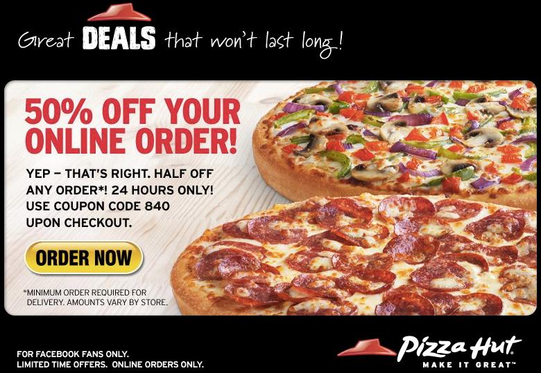 Pizza hut coupon retailmenot