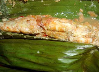 Pepes udang, resep Pepes udang, cara membuat Pepes udang