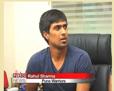 Rahul Sharma cricketer latest news images/photos/videos rave party matches