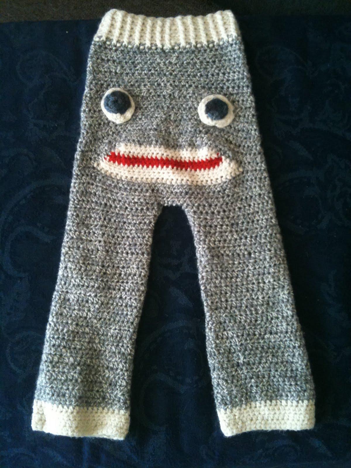 monster high straight leg pants free crochet pattern ...