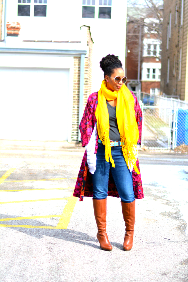 ways to style a kimono