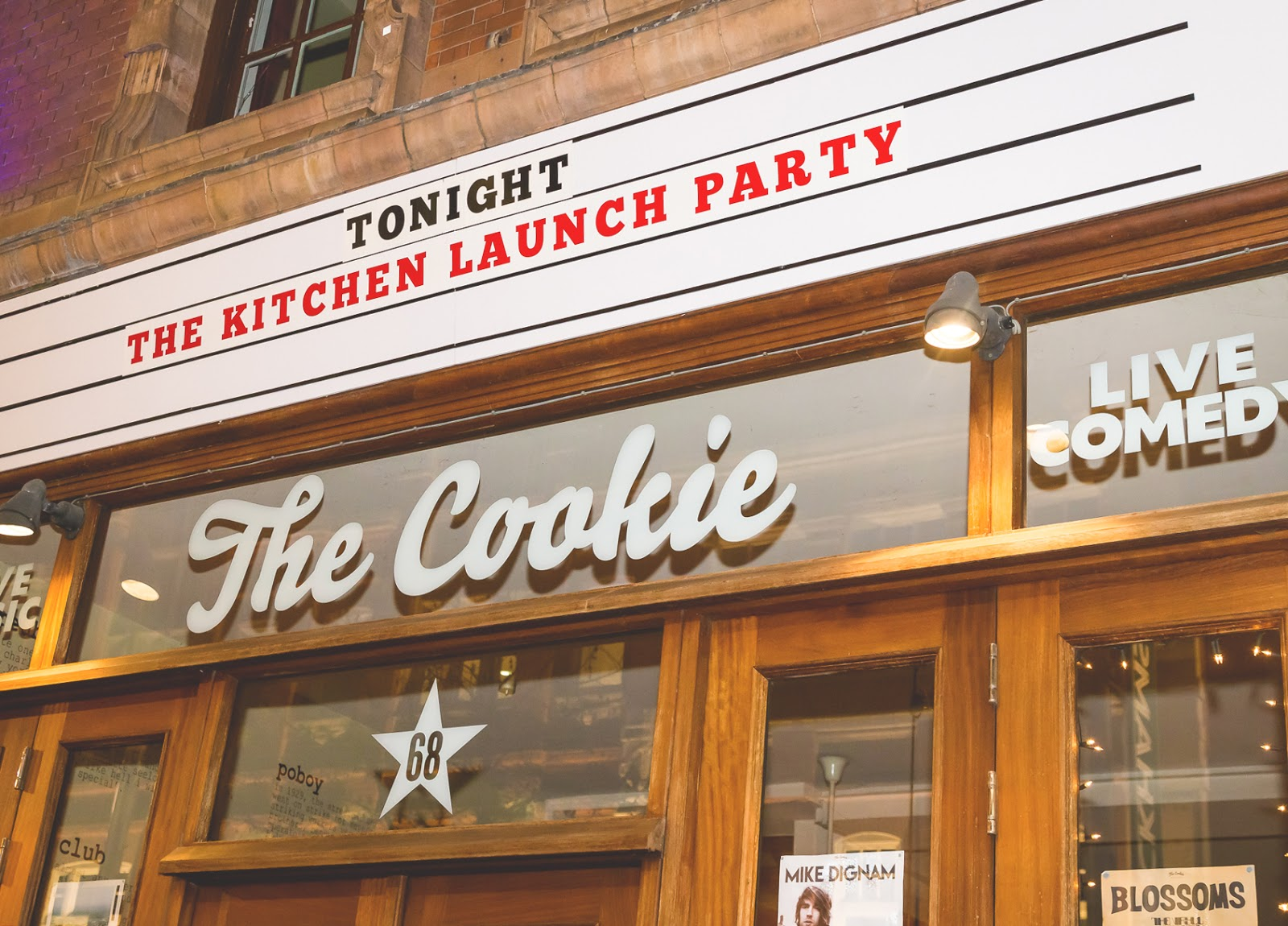 The Kitchen Launch Party Leicester The Cookie
