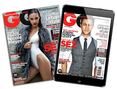 Latest writing in July GQ  on 'How to get an ironman Body', includes interview with Raynard Tissink