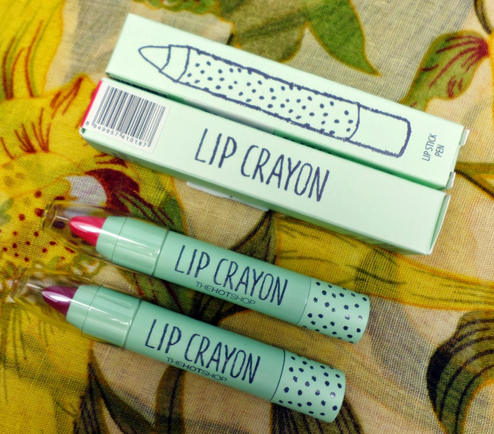 Review: Born Pretty Lip Crayons Shades 01 & 12