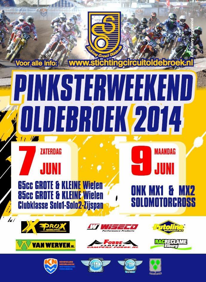 Pinksterweekend 2014 (7 en 9 juni)