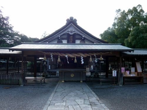 宗像大社(辺津宮)拝殿