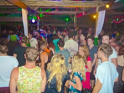 Backyard Full Moon Party