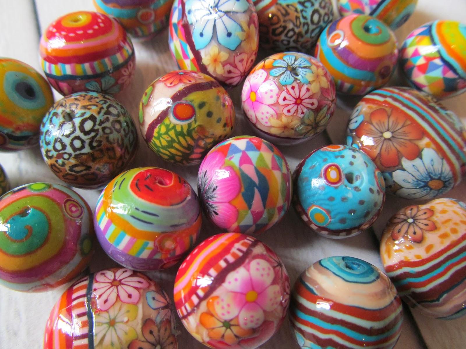 חימר פולימרי, חרוזי פימו,חרוזי חימר פולימרי,גלילי פימו,גלילי חימר פולימרי fimo beads,polymer clay beads,