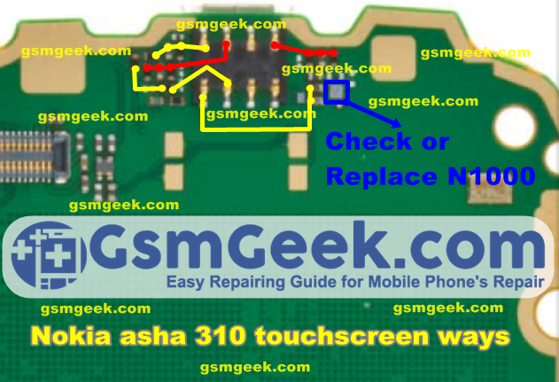 Nokia Asha 310 Touch Screen Problem Repair Ways Solution