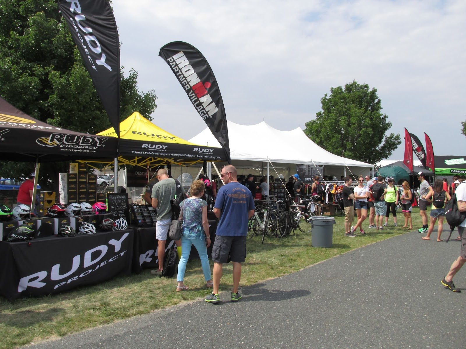 Admittedly they had some pretty cool stuff at the merch tent. I didnu0027t buy anything though. I plan on blowing the budget at the merchandise tent in Kona. & Tri Runner Rick: 2015 Ironman Eagleman 70.3 Race Report