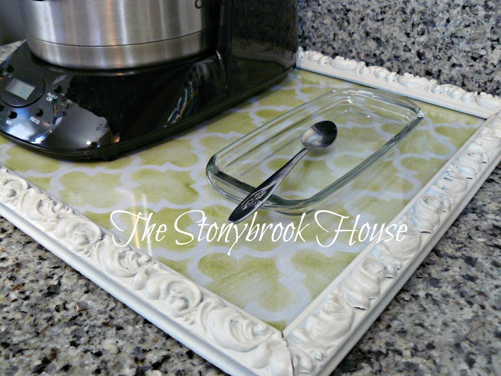 DIY Sliding Coffee Tray - The Stonybrook House