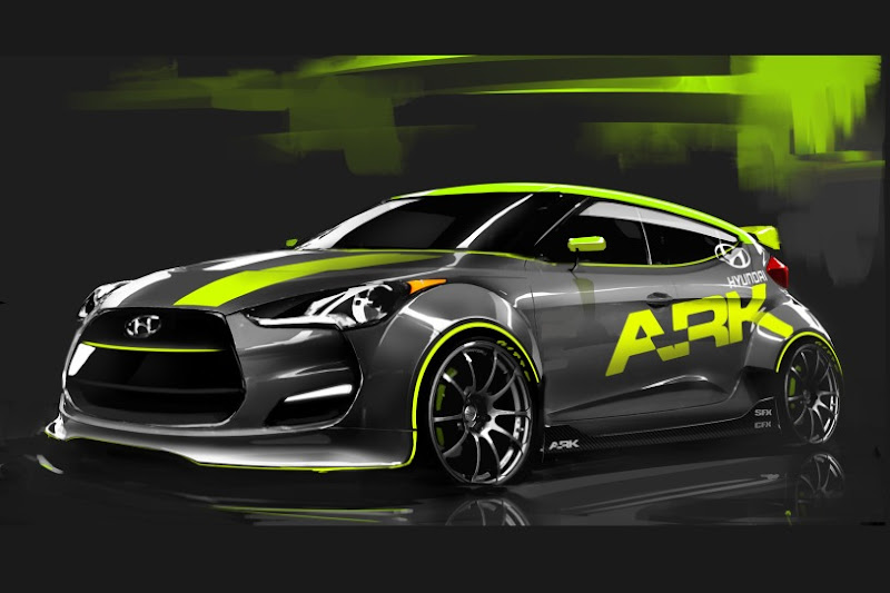 Ark Performance Hyundai Veloster