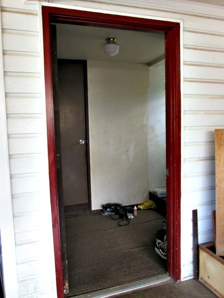 Sunnyside Up Stairs Garage Entryway And Mudroom Putting On Paint