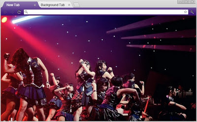 Download Theme / Tema Google Chrome JKT48 Terbaru