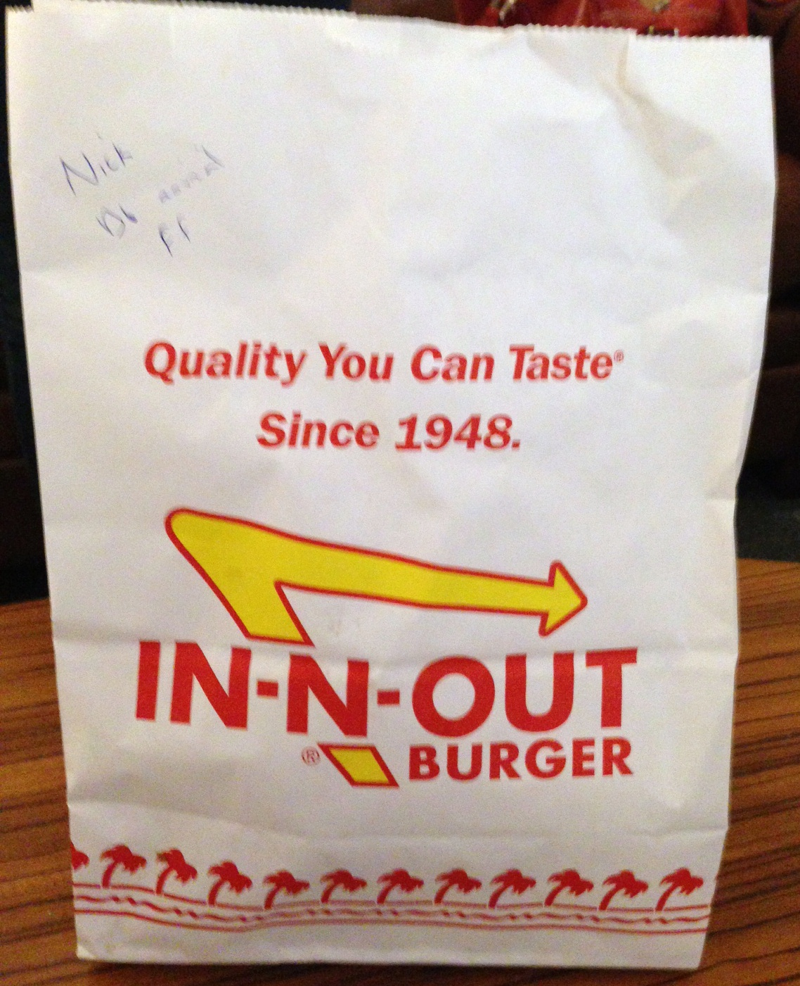 News About Women: In-N-Out