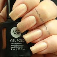 ASP Gel Polish Golden Opportunity Swatch