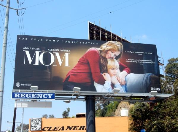 Mom sitcom 2015 Emmy billboard