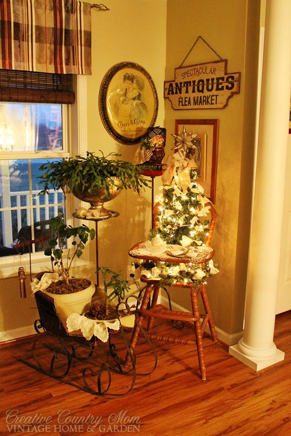 A Very Vintage Christmas - Decorating for the Holidays with Antiques