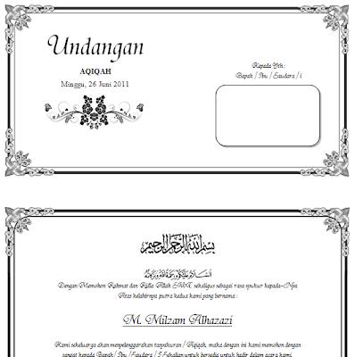 contoh kata kata undangan pernikahan kristen