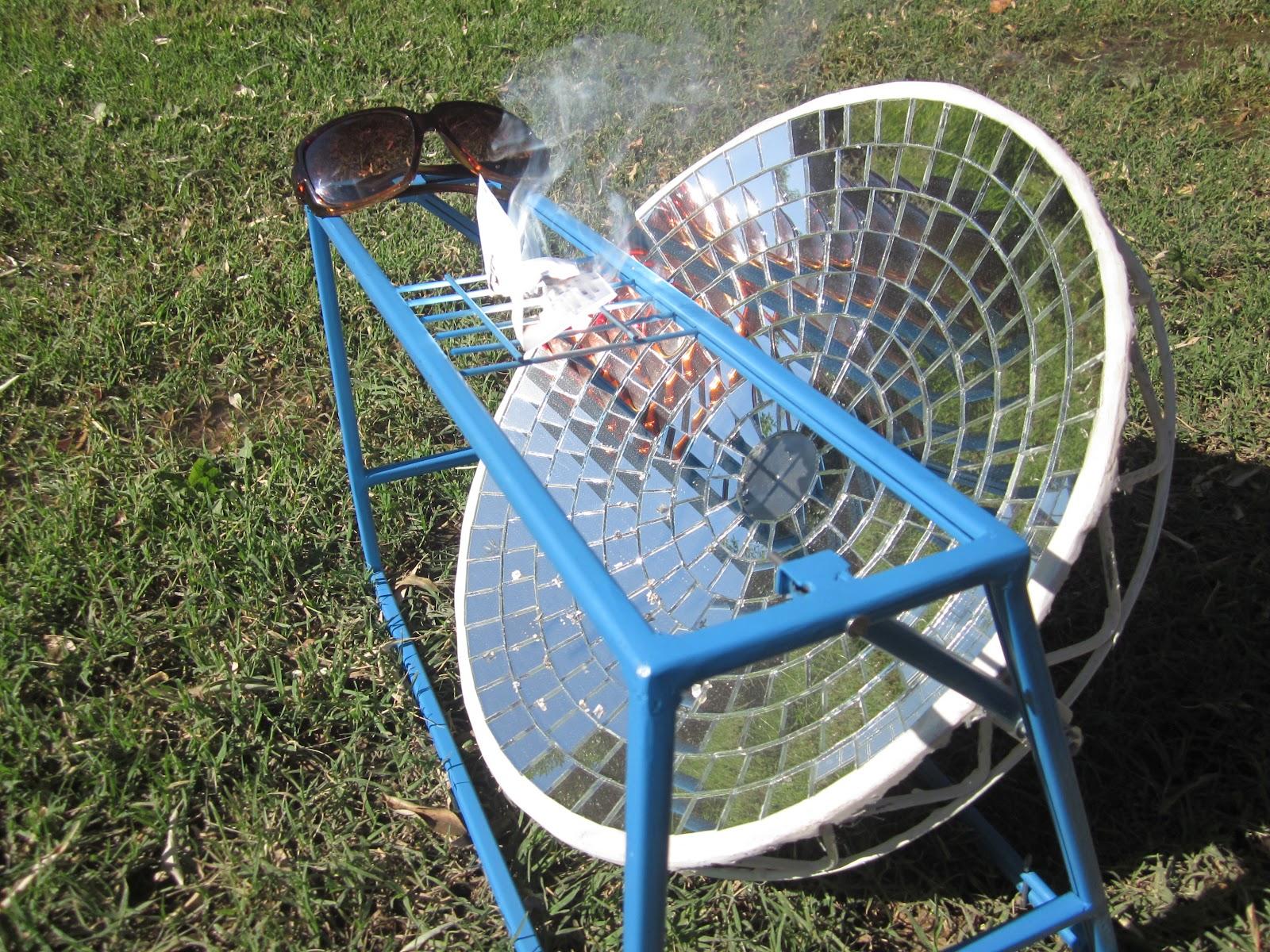 Planeta canelo cocina solar parab lica en miniatura for Planos para cocina solar parabolica