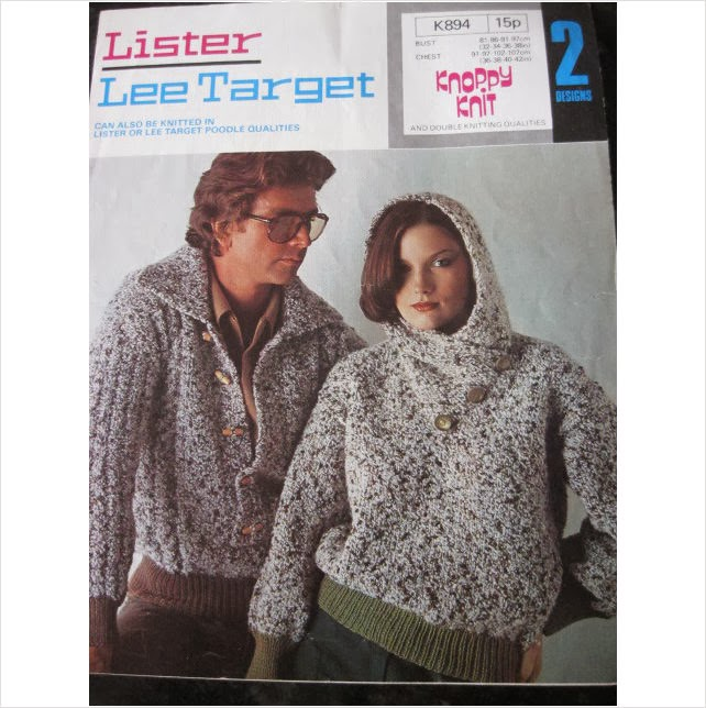 V M His Hers Chunky Knitting Patterns