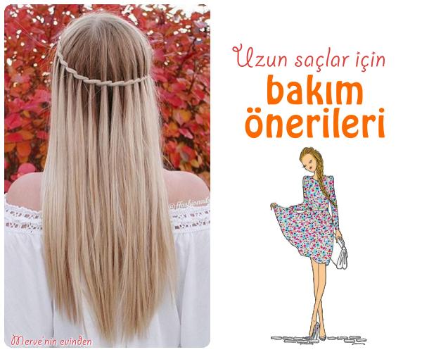 Uzun saçlar için bakım önerisi