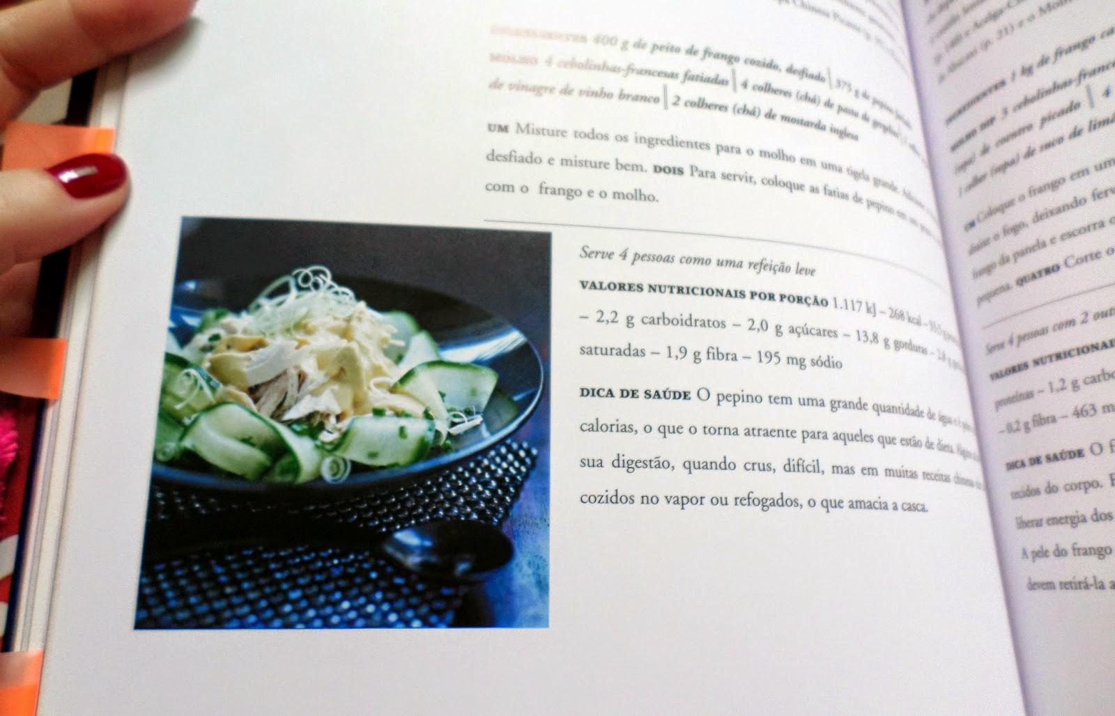 livro de receitas cozinha chinesa marco zero editora