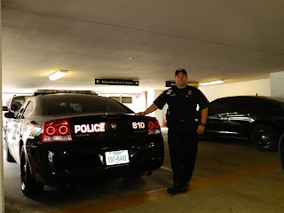 Sgt. David Herrera is in charge of patrol in the South Sector.