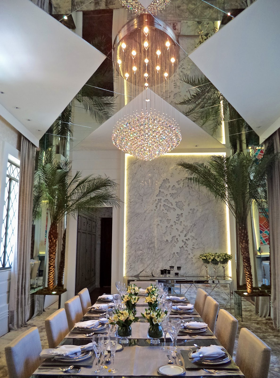 Sala De Jantar Iara Kilaris ~  de interiores Iara Kílaris projeta sala de jantar digna dos grandes