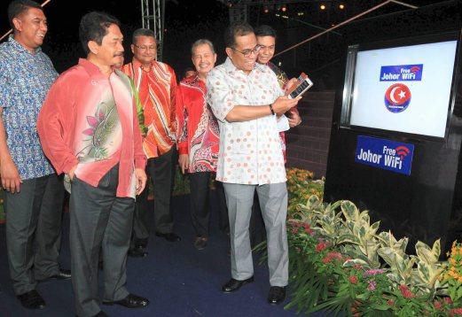 Free Wifi Untuk Warga Johor Januari Depan