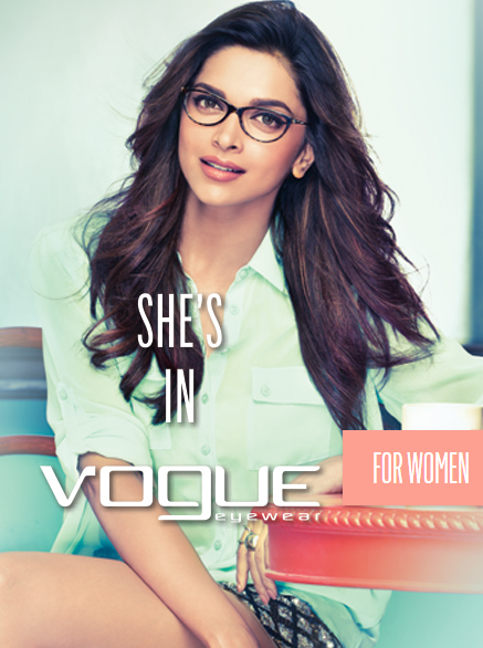 Deepika Padukone Hot Photoshoot for Vogue Eyewear 2016 - deepika padukone vogue eyewear wallpapers