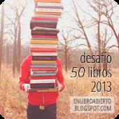 ¡Desafío: 50 libros 2013!