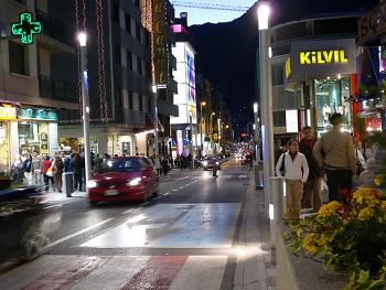 De compras por Andorra