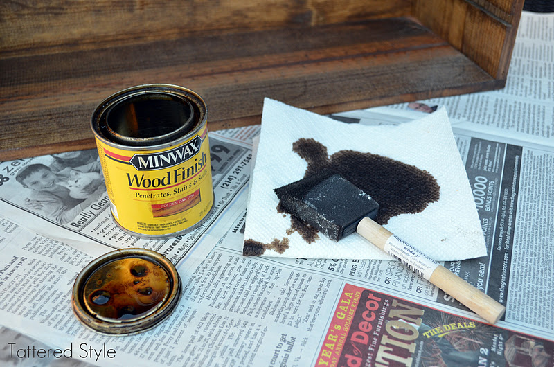Stain Of Your Choice I Used Minwax Wood Finish And Sealer Provincial 211