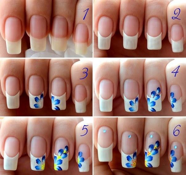 Flower Nail Art Designs Tutorial Entertainment News Photos