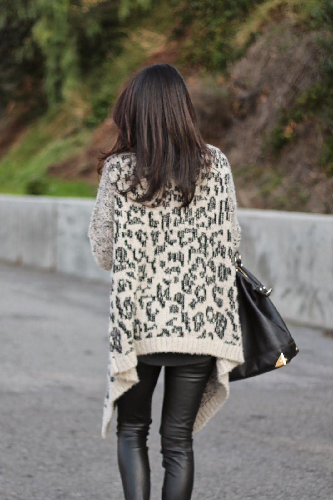 Pursuit of Shoes Leopard Cardigan
