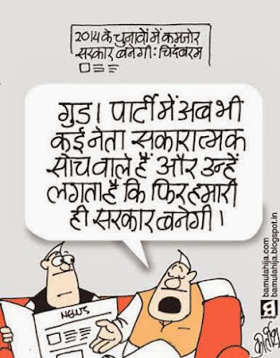 chidambaram cartoon, congress cartoon, election 2014 cartoons, cartoons on politics, indian political cartoon