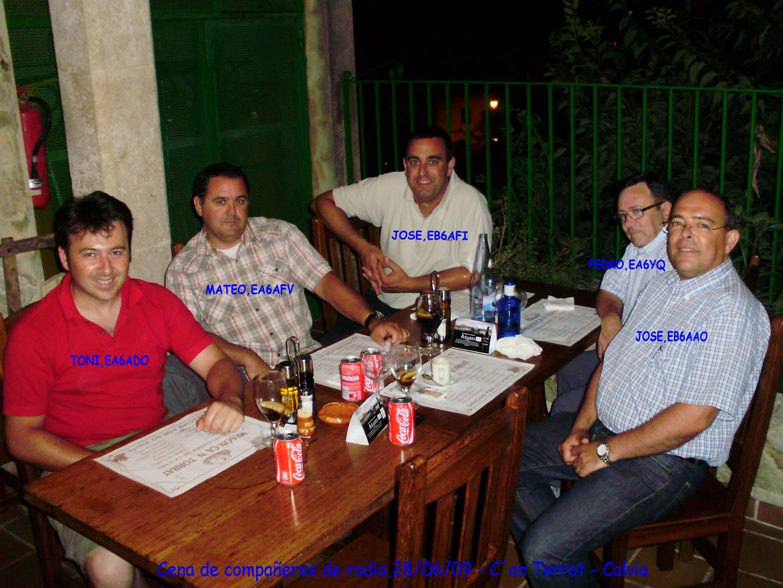 Cena en C´n Torrat - 29/06/2009