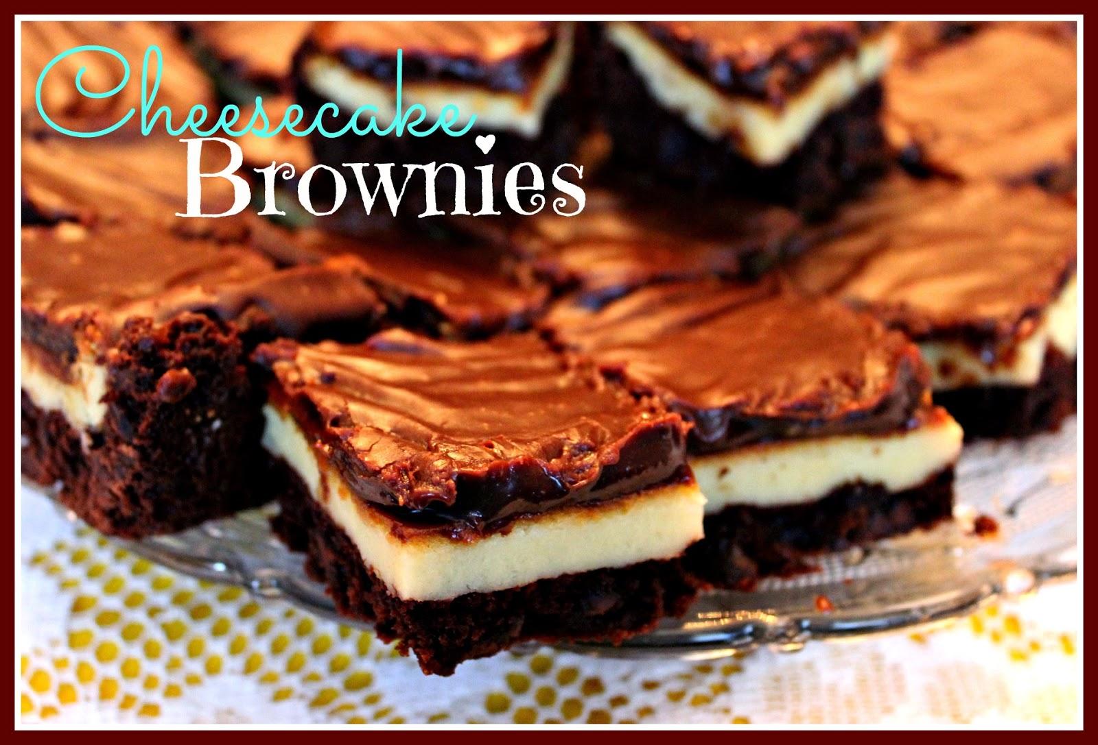 Cheesecake Brownies Recipe — Dishmaps