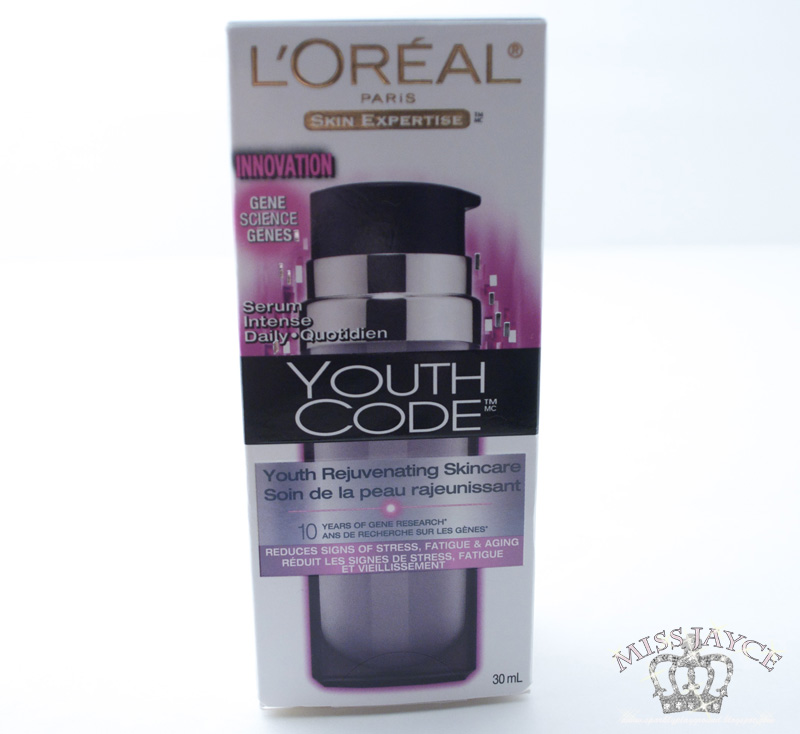 REVIEW LOreal Youth Code Serum Intense