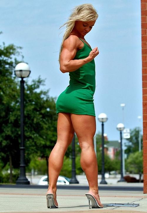 Womens Muscular Legs 119