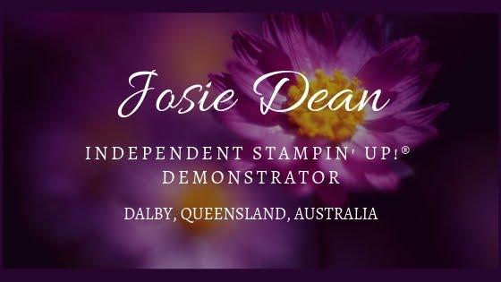 Josie Dean Independent Stampin' Up! ® Demonstrator