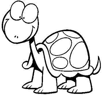 Dibujos y Plantillas para imprimir Dibujos de tortugas